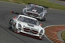 ADAC GT Masters - Aufholjagd im Rennen : Starker Saisonabschluss f�r den Polarweiss-SLS