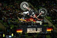 MX/SX - Pages gewinnt im Olympiastadion: Sensation bei den X-Fighters in M�nchen