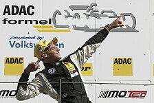 ADAC Formel Masters - Malja neuer Gesamtf�hrender: Start/Ziel-Sieg f�r Picariello