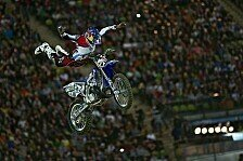 Bikes - Flying Frenchman im Olympiastadion: Video: Red Bull X-Fighters 2012 Munich
