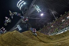 Bikes - Dreikampf um den Titel spitzt sich zu: Red Bull X-Fighters in Madrid