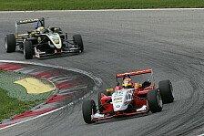 Formel 3 Cup - Gilbert war nicht zu halten: Demonstration von Mitchell Gilbert