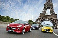 Auto - Weltpremiere in Paris: Neuer Opel ADAM erobert die Modehauptstadt