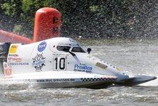 Int. ADAC MSG Motorboot Cup - Erster Sieg f�r Lokalmatador Westphal: Lauscher gewinnt Hitzeschlacht in Berlin