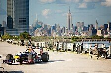 Formel 1 - In den Stra�en von New Jersey: Video - Red Bull Show-Run New Jersey