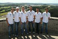 DTM - Die Gr�ne H�lle von oben: BMW-Fahrer besuchen die N�rburg