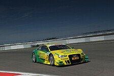 DTM - Audi erobert die Top-Pl�tze: Rockenfeller mit Bestzeit im Warm Up