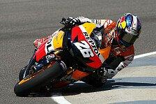 MotoGP - Schwere St�rze beeinflussen das Qualifying: Pedrosa auf Pole, Stoner verletzt