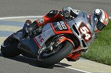 MotoGP - Daten analysieren und steigern: Pasini hat Chattering-Probleme