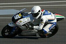 Moto3 - Folger am Ende Dritter : Fenati trotz Sturz im 2. Training vorn