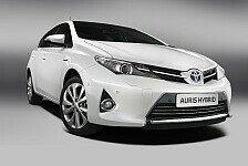 Auto - Premiere auf dem Pariser Automobilsalon: Toyota stellt den neuen Auris vor