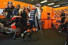 MotoGP - Kein Happy End: Stoner ist frustriert
