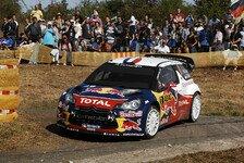 WRC - Solberg und Latvala �ber 20 Sekunden zur�ck: Loeb �bernachtet mit Deutschland-F�hrung
