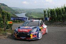 WRC - Solberg und Neuville crashen: Loeb nun mit gewaltigem Vorsprung