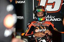 Moto2 - B�nder in linker Hand rekonstruiert: De Angelis erfolgreich operiert