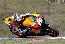 MotoGP - Spanier erk�mpft sich auf den letzten Metern den Sieg: Pedrosa: Es war gro�artig