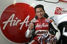 Moto3 - Probleme mit Grip und Wetter: Khairuddin freut sich �ber erste Pole