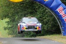 WRC - Großbritannien-Premiere für Neuville
