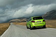 Auto - Sportlicher Gel�ndewagen: Porsche auf der Moscow International Motor Show