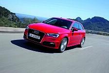 Auto - Bestnote bei der passiven Sicherheit im Crashtest: F�nf Sterne f�r den Audi A3