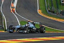 Formel 1 - Zeitenjagd auf der Ardennen-Achterbahn: Live-Ticker: Das Qualifying