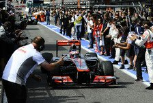 Formel 1 - Traktion, Temperatur und Reifen: Button: N�chstes Highlight in Monza