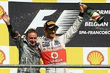 Formel 1 - Leute kommen und gehen: Lowe-Abgang w�re f�r Button kein Problem