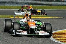 Formel 1 - Lob f�r die Piloten: Force India m�chte den Schwung mitnehmen