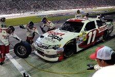 NASCAR - Zehn der zw�lf Chase-Pl�tze sind vergeben: Denny Hamlin holt seinen vierten Saisonsieg