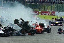 Formel 1 - Formel 1 ist, was sie immer war: Ecclestone h�lt Cockpitschutz f�r Bl�dsinn