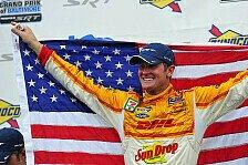 IndyCar - Power versagen erneut die Nerven: R�ckblick 2012: Ryan Hunter-Wer?