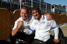 Formel 1 - Zu schnell f�r die Konkurrenz: Zanardi: Ausschluss vom New-York-Marathon