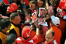 Formel 1 - Leere Trib�nen, volles Media-Center: Fans vermissen Alonso