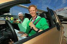 DTM - Olympia-Flair in der B�rde: Beachvolleyball-Olympiasieger in Oschersleben