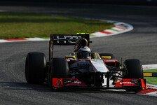 Formel 1 - Ma Qing Hua deb�tiert f�r China: Geschichtstr�chtiger Tag f�r HRT und die Formel 1