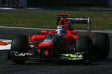 Formel 1 - Es geht doch auf Highspeed-Strecken: Marussia besser als erwartet in Monza
