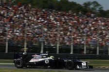Formel 1 - Zu viele Probleme: Bruno Senna