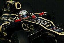Formel 1 - Stammcockpit ist das Ziel: D'Ambrosio bleibt wohl Lotus-Ersatzfahrer
