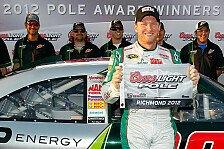 NASCAR - Sieben von acht Fahrern hilft nur ein Sieg: Dale Earnhardt Junior steht in Richmond auf Pole