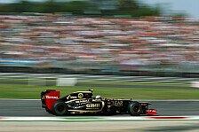 Formel 1 - Deutlicher Aufw�rtstrend ab Singapur erwartet: D'Ambrosio mit KERS-Problem