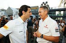 Formel 1 - Das Team str�ubt sich ein wenig: Perez m�chte De la Rosa als McLaren-Tester