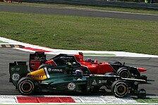 Formel 1 - Die kleine WM: Marussia vs. Caterham: Kampf um Platz zehn