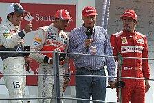 Formel 1 - McLaren bessert beim Gehalt nach: Mercedes: Hamilton & Lauda neue Doppelspitze?