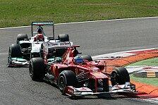Formel 1 - Bilderserie: Punktewertung: Alonso �bertrumpft Schumacher