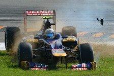 Formel 1 - Bilder: Italien GP - Vergne-Unfall