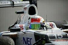 Formel 1 - Sauber und Perez haben alles richtig gemacht: Strategiebericht zum Italien GP