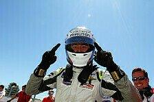 Formel 2 - Sieg bei Regenschlacht: Tuscher h�lt Titelrennen offen