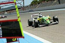 Formel 2 - Wechselhafte Bedingungen sorgten f�r Action: Tuscher sichert sich Pole in Monza