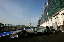 Formel 1 - Premiere in Singapur?: Mercedes: Neue Heckpartie in Magny-Cours