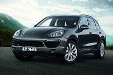 Auto - Neues Diesel-Topmodell mit Biturbo-V8: Cayenne S Diesel: Ein Ma�stab f�r Effizienz